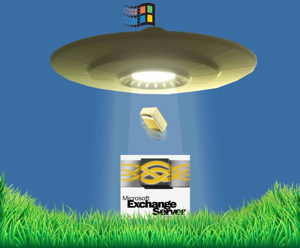 Windows Server 2000 sucks Active Directory out of Exchange 5.5