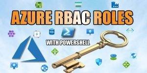 Azure RBAC Roles