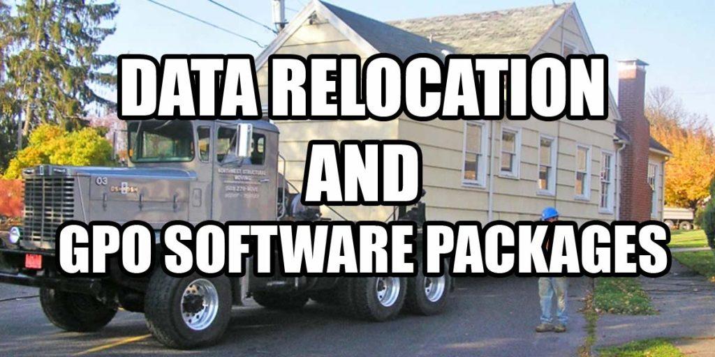 Data gpo software