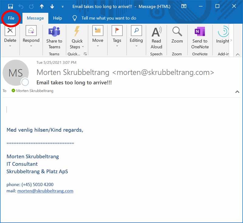 Email Header 1