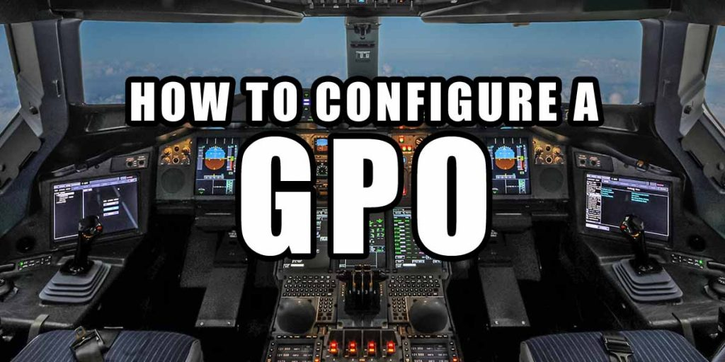How to configure GPO