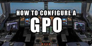 How to configure GPO