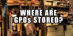 Where are GPOs stored
