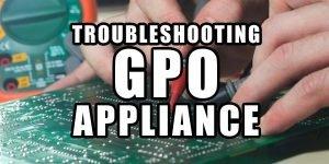 GPO troubleshooting