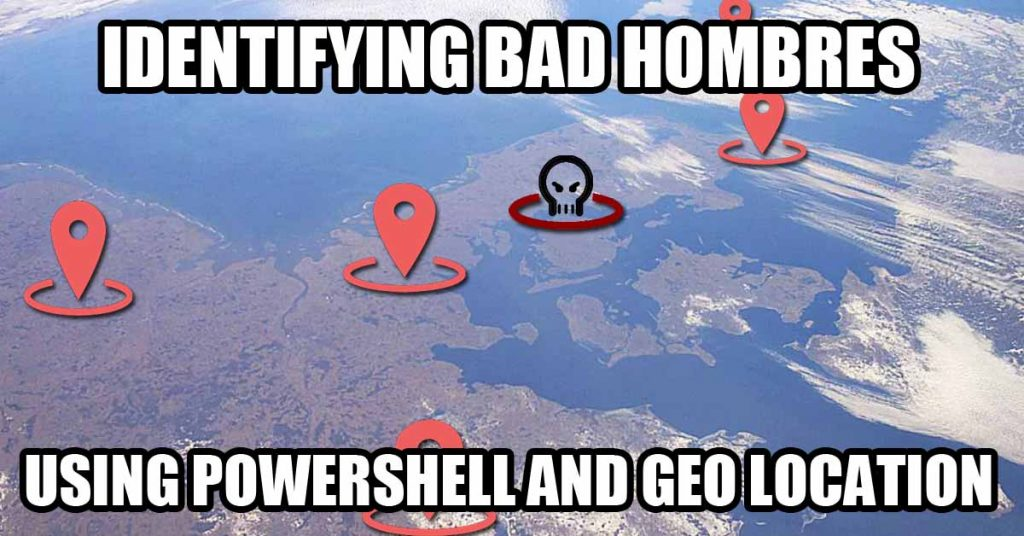 Geo Location and PowerShell