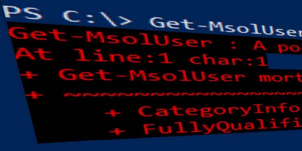 Get-MSOLUser Positional Parameter