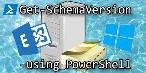 Get AD Exchange Schema Version