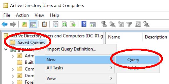 LDAP Query DynamicGroups