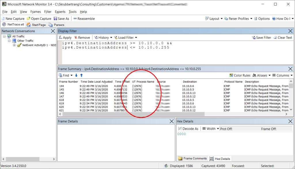 netmon etl file process