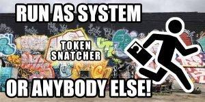 Run As System