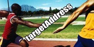 targetAddress